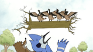 S4E19.53 The Geese Carrying a Tree Trunk
