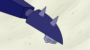 S6E24.372 Drills Appearing Out of Moto-Goosowary's Left Arm