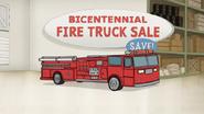 S6E23.135 Bicentennial Fire Truck Sale