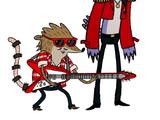 Future Mordecai and Future Rigby