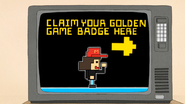 S6E19.027 Claim your golden game badge here