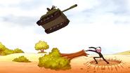 S6E18.240 Benson Throwing the Tank