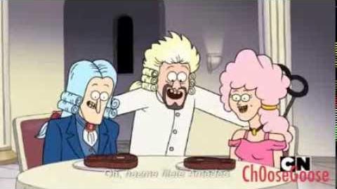 """Regular show """"Steak me Amadeus"""" exclusive clip HD"""