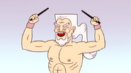 S4E13.257 Grand Master Removing His Hair Sticks