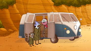 S6E19.227 Mordecai and Rigby Surprised to Learn of a New Map