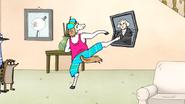 S6E21.038 Party Horse Kicking the George Washington Portrait