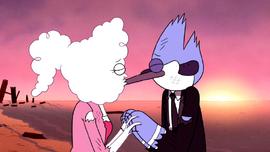 S5E37.172 Mordecai and CJ Kiss During a Sunrise.png