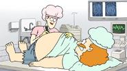 S6E26.150 The Nurse Marking the Incision on Sensai's Stomach