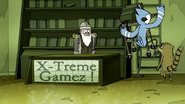 S6E19.142 Mordecai and Rigby Going Up the Ladder