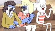 S6E01.199 Everybody Laughing Again at Mordecai's Joke