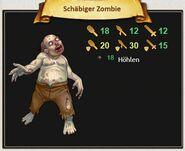 Schäbiger Zombie