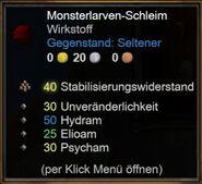 Monsterlarven-Schleim