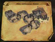Alte, verlassene Hütte