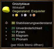Grizzlyklaue