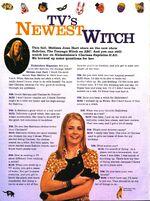 Nickelodeon magazine oct 1996 sabrina teenage witch melissa joan hart