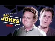 The Sandlot Stars Try Not To Laugh At BAD Jokes!
