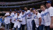 Sandlot the Movie reunion at Dodger Stadium