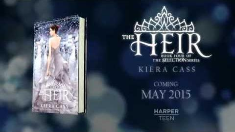 THE HEIR by Kiera Cass—Cover Reveal Video-0
