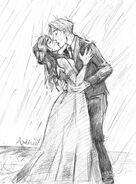 Maxerica in the rain