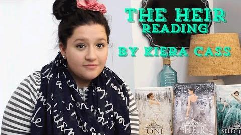 Kiera Cass Reads From The Heir