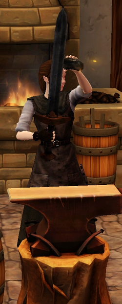 Crude longsword sharpened by blacksmith.png