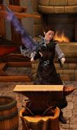 Doomsword sharpened by blacksmith