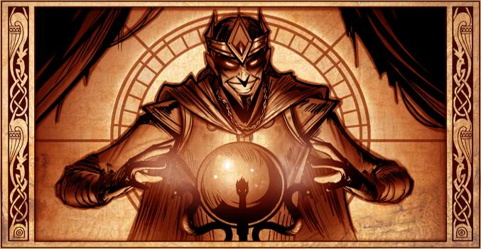 The Sinister Sorcerer/Save the Sorcerer