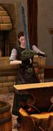 Watcher s blade sharpended by blacksmith