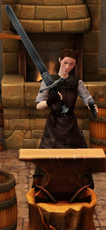 Steel longsword sharpended by blacksmith.png