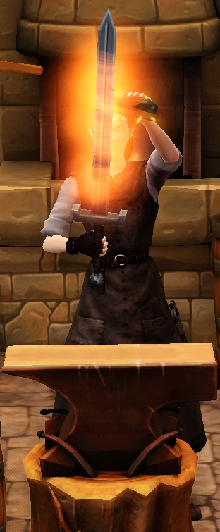 Fiery greatsword sharpened by blacksmith.png