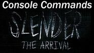 Slender The Arrival - Cheats - How to Access The Console Commands