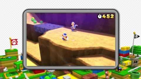 Super Mario 3D Land - October 20 Reveal Trailer