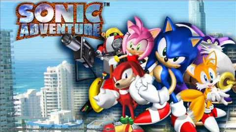 Sonic Adventure Music Danger! Chased by Rock.