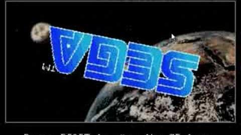 Sega CD Boot Up Screen