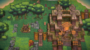 Running Temple Day Single-scaled
