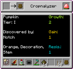 GGR Obtained Through a Cropnalyzer