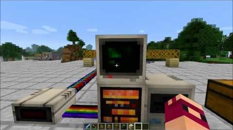 Minecraft Redpower 2 - Basic computer use in Minecraft - Part 1 2