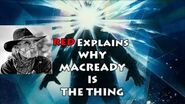 MacReady Is The Thing! Evidence from The Thing (1982) Kurt Russell John Carpenter