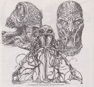 Dale Kuiper's concept art of The Thing 3