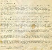 Dale Kuipers' The Thing document