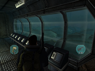 Pyron submersible interior 3 - The Thing (2002)