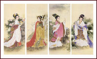 Four Great Chinese Beauties (2)