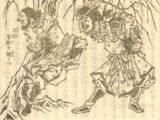 Zhang Fei trashes the Imperial Inspector
