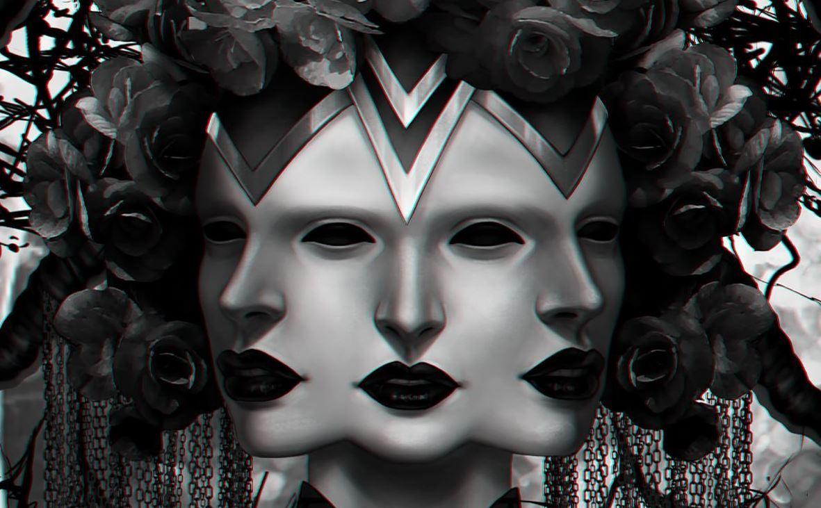 Three-Faced Goddess