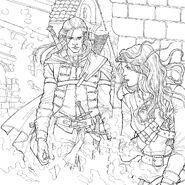 TOG Coloring Book - Rowan and Aelin
