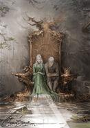 Rowan & Aelin by Charlie Bowater, 01