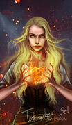 Aelin by Morgana0anagrom, Fireheart