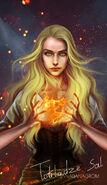 Aelin by Morgana0anagrom, Fireheart