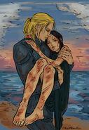 Aedion & Lysandra by PhantomRin, 02