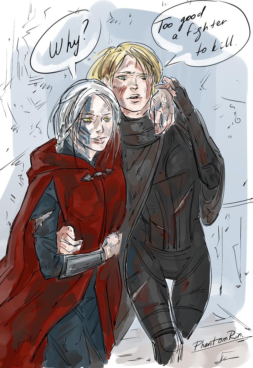 Aelin & Manon by PhantomRin.jpg